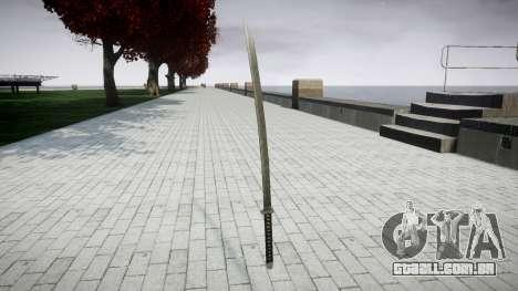 Espada-Yamato- para GTA 4 segundo screenshot