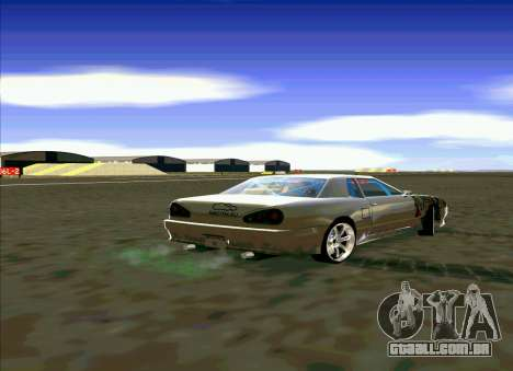 Elegy Restyle para GTA San Andreas esquerda vista