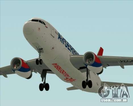 Airbus A319-100 Air Serbia para o motor de GTA San Andreas
