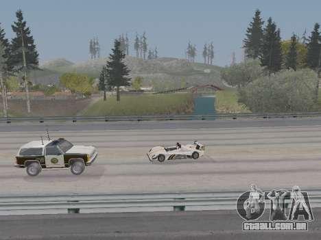 Jundo ENB Series V0.1 para PC fraco para GTA San Andreas por diante tela