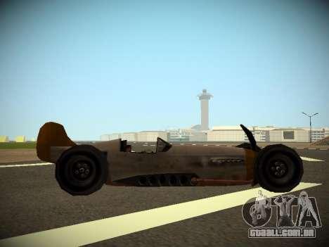Rustler Rod Beta para GTA San Andreas traseira esquerda vista