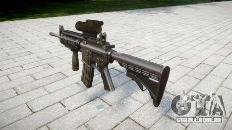 Automático carabina M4 Tático Senhores para GTA 4 segundo screenshot