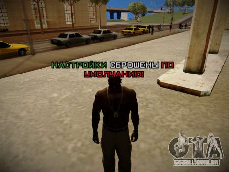 Sistema de roubos v4.0 para GTA San Andreas sexta tela