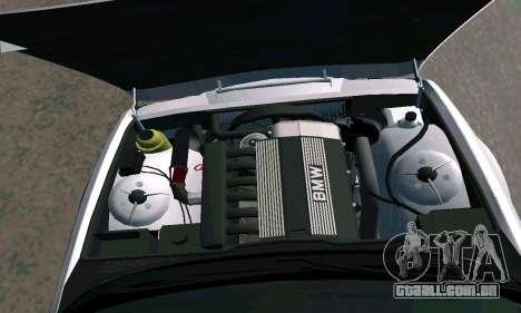 BMW 525 Turbo para GTA San Andreas vista direita
