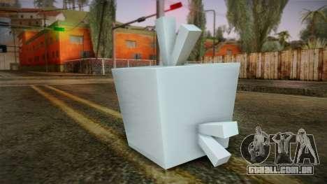 Ice Bird from Angry Birds para GTA San Andreas segunda tela