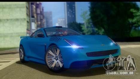 GTA 5 Dewbauchee Massacro para GTA San Andreas