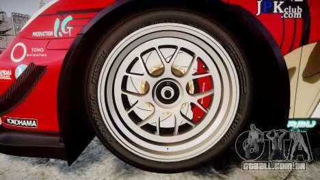 Porsche 911 Super GT 2013 para GTA 4 vista de volta