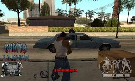 C-HUD Ghetto Tawer para GTA San Andreas