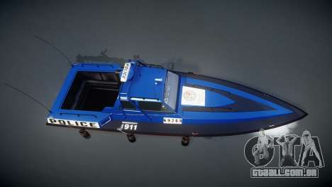 GTA V Police Predator para GTA 4 vista direita