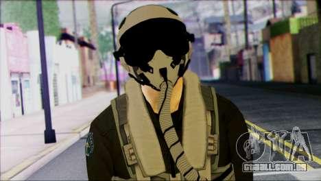 Russian Jet Pilot from Battlefield 4 para GTA San Andreas terceira tela