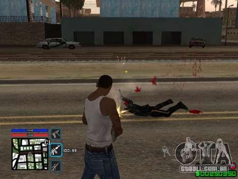C-HUD by SampHack v.4 para GTA San Andreas segunda tela