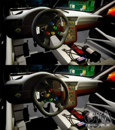 RUF RGT-8 GT3 [RIV] EXO para GTA 4 vista superior
