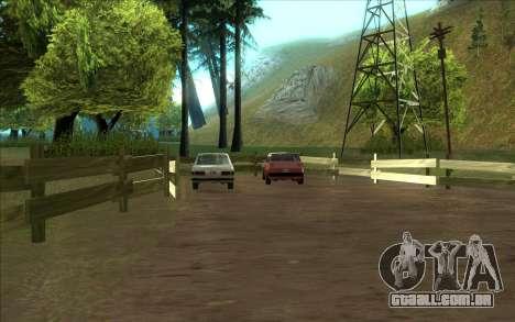 Estrada da garagem do Sigea para GTA San Andreas segunda tela