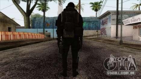 Modern Warfare 2 Skin 18 para GTA San Andreas segunda tela