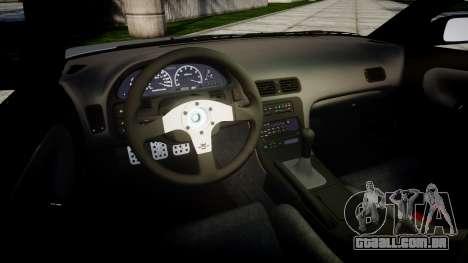 Nissan 240SX SE S13 1993 para GTA 4 vista lateral