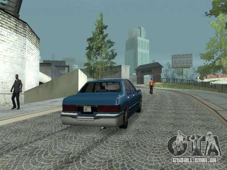 Beta Elegant para GTA San Andreas vista direita