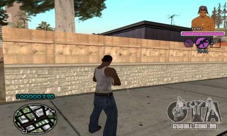 C-HUD 2Pac para GTA San Andreas terceira tela