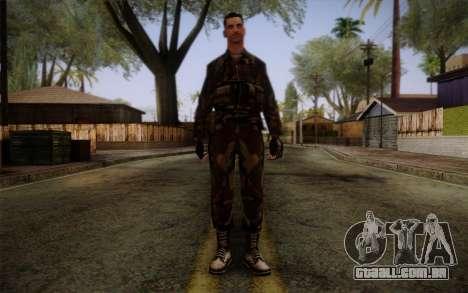 Soldier Skin 1 para GTA San Andreas