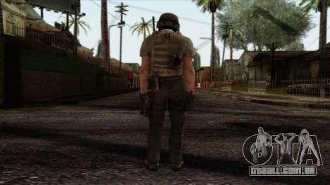 Modern Warfare 2 Skin 19 para GTA San Andreas segunda tela