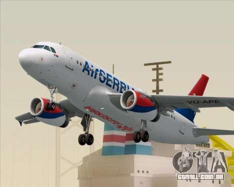 Airbus A319-100 Air Serbia para GTA San Andreas