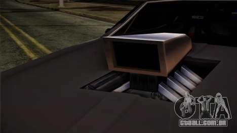 Clover Mejorado para GTA San Andreas traseira esquerda vista