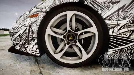 Lamborghini Gallardo LP570-4 Superleggera 2011 S para GTA 4 vista de volta