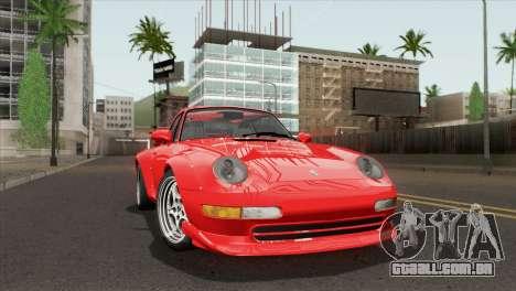 Porsche 911 GT2 (993) 1995 [HQLM] para GTA San Andreas traseira esquerda vista