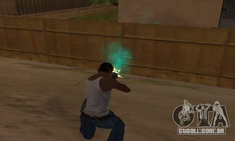 Turquesa efeitos para GTA San Andreas