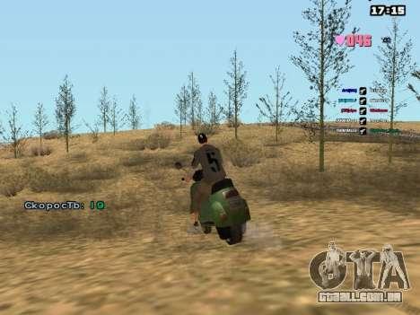 SAMP Fixer para GTA San Andreas por diante tela