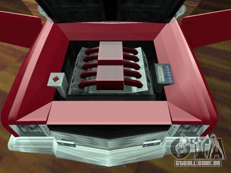 Buccaneer Turbo para GTA San Andreas vista superior