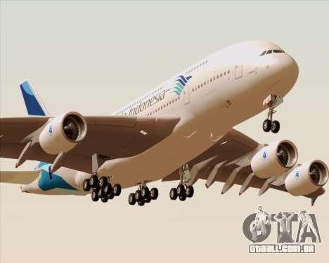Airbus A380-800 Garuda Indonesia para o motor de GTA San Andreas