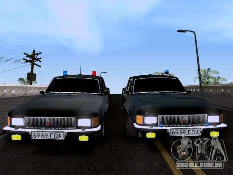 Volga GAZ 3102 para GTA San Andreas vista direita