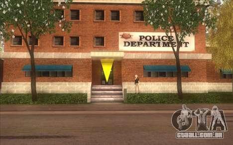 A revitalização da aldeia Dillimore para GTA San Andreas terceira tela