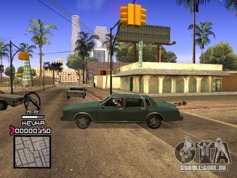 C-HUD by Kevka para GTA San Andreas segunda tela