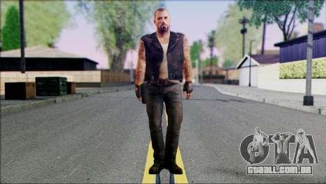 Left 4 Dead Survivor 3 para GTA San Andreas