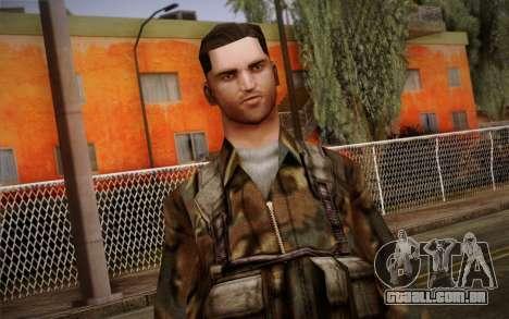 Soldier Skin 1 para GTA San Andreas terceira tela