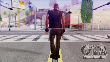Left 4 Dead Survivor 3 para GTA San Andreas segunda tela