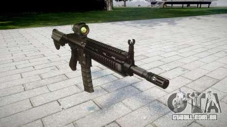 Máquina HK416 AR para GTA 4