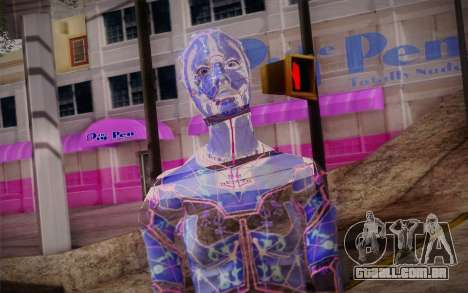 Avina from Mass Effect para GTA San Andreas terceira tela
