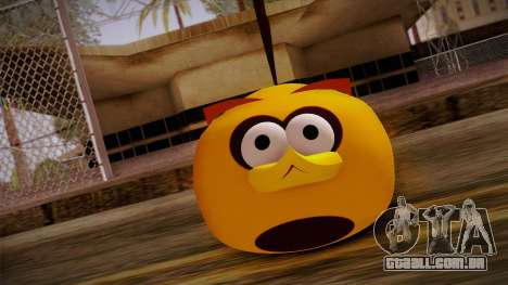 Orange Bird from Angry Birds para GTA San Andreas terceira tela