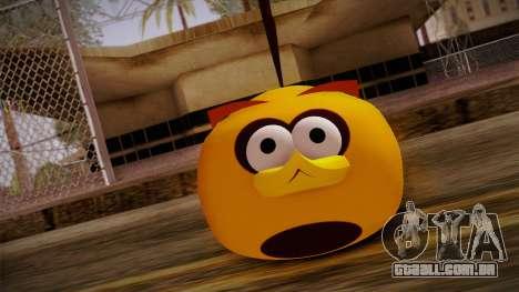 Orange Bird from Angry Birds para GTA San Andreas terceira tela