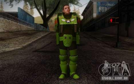 Space Ranger from GTA 5 v3 para GTA San Andreas