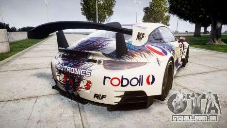RUF RGT-8 GT3 [RIV] RobOil para GTA 4 traseira esquerda vista