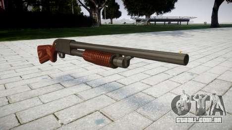 Riot espingarda Ithaca M37 para GTA 4