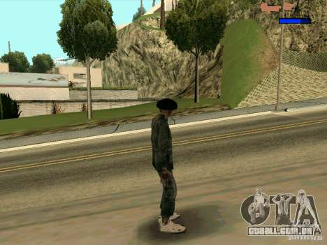 Cкин Benito из Stalker para GTA San Andreas terceira tela