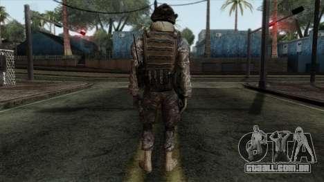 Modern Warfare 2 Skin 8 para GTA San Andreas segunda tela