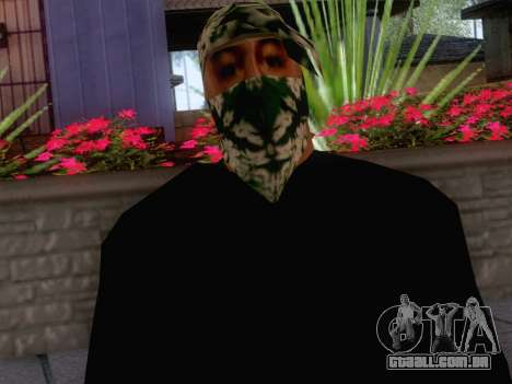 New Ballas Skin 1 para GTA San Andreas terceira tela