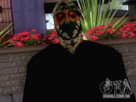 New Ballas Skin 1 para GTA San Andreas terceira tela