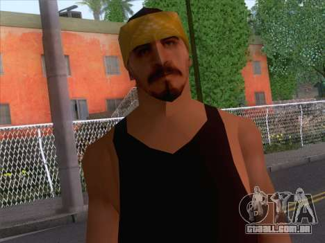 New Ballas Skin 2 para GTA San Andreas terceira tela