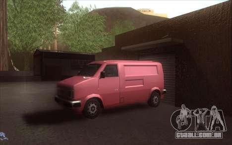 A revitalização da aldeia Dillimore para GTA San Andreas nono tela